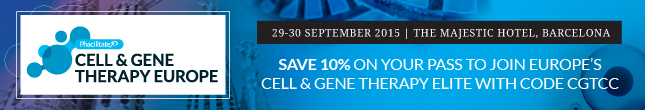 Save 10% on your pass to Cell & Gene Therapy Europe!
